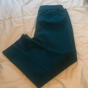 Teal NWOT Marisa fit pant
